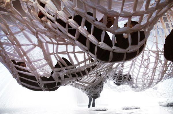 Woven Installation by Studio 400