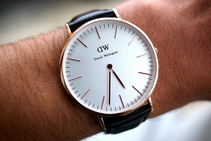 daniel wellington watches for men