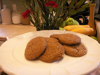 The Alchemist: Triple Ginger Cookies