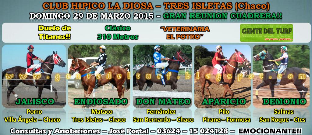 Tres Isletas 29-03 Mas Clasicos