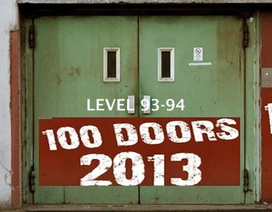 100 Doors 2013 Level 93 94 Walkthrough