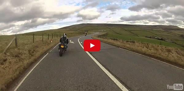 Motoqueiro grava próprio acidente