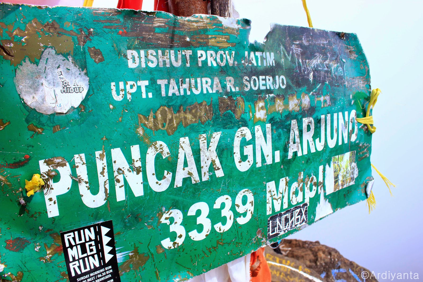 Informasi Jalur Pendakian Gunung Arjuno via Tretes