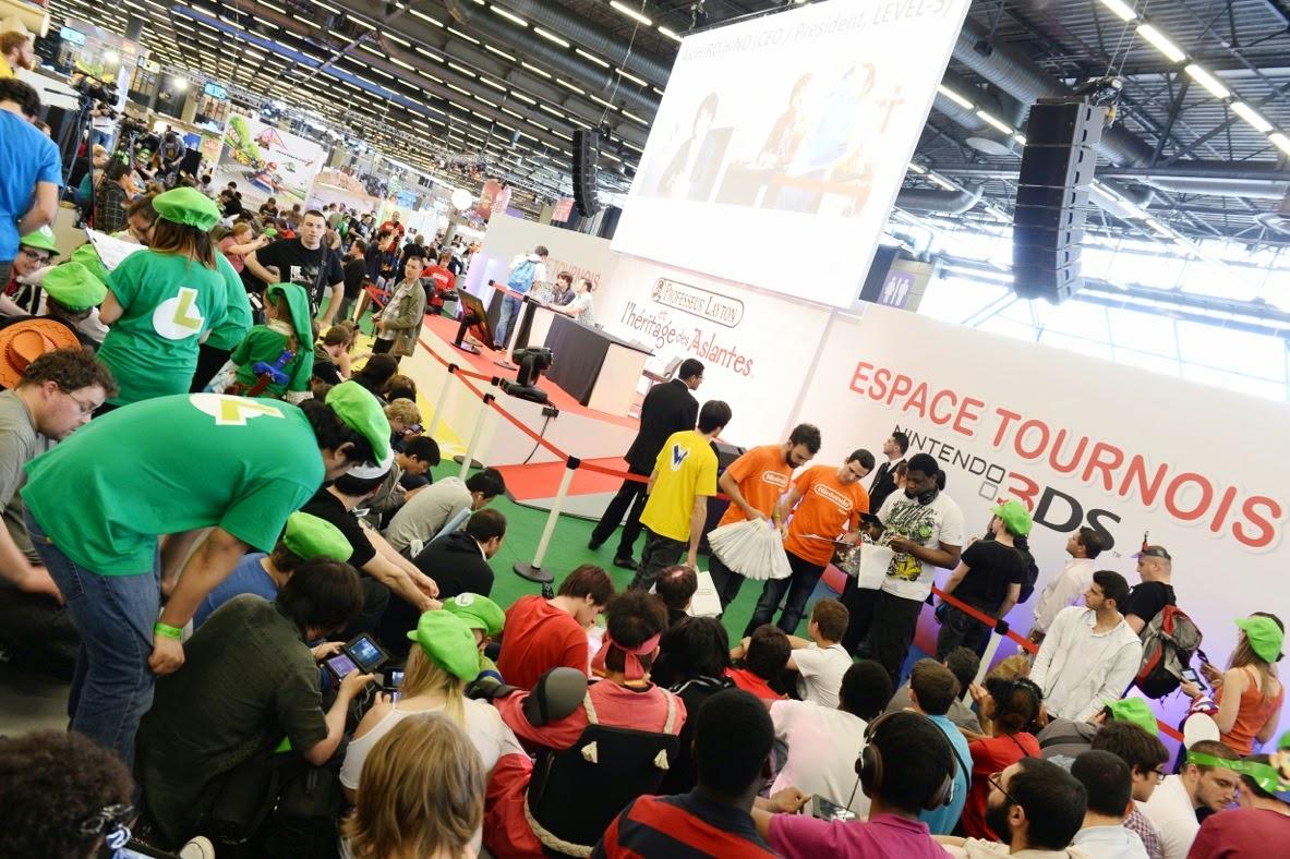 Japan Expo Les Stands : Le stand nintendo sera encore au rendez vous pour la japan expo ~ il