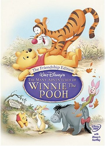 Friendship Edition Many Adventures of WInnie the Pooh 1977 animatedfilmreviews.filminspector.com