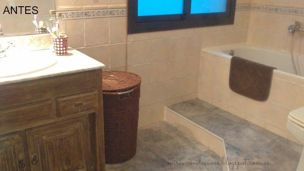 Reforma Baño Quitar Bide:También aproveché para quitar el bidé que no usaba casi nunca