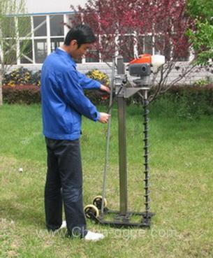 Gasoline Auger Drill7