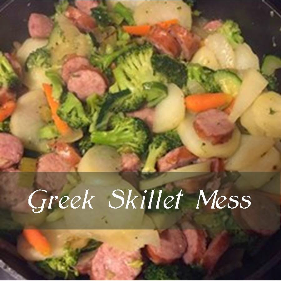 Greek Skillet Mess