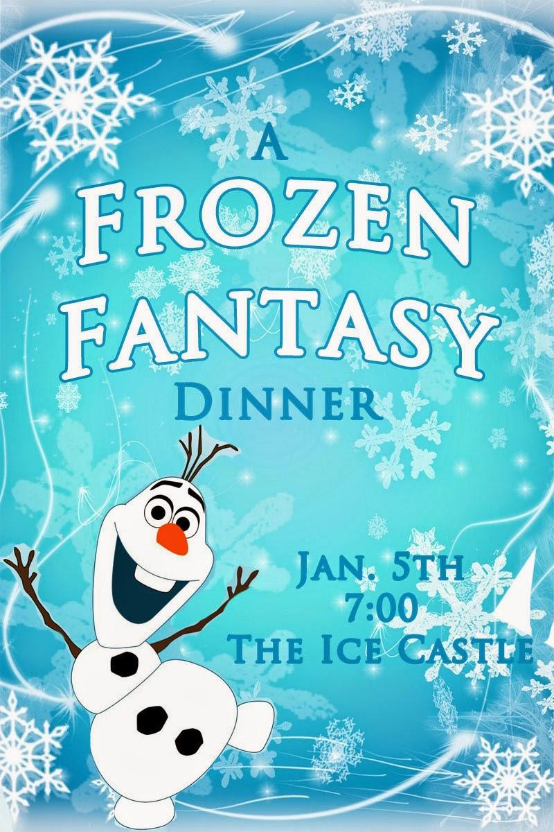 Invite and Delight: Frozen Fantasy Dinner