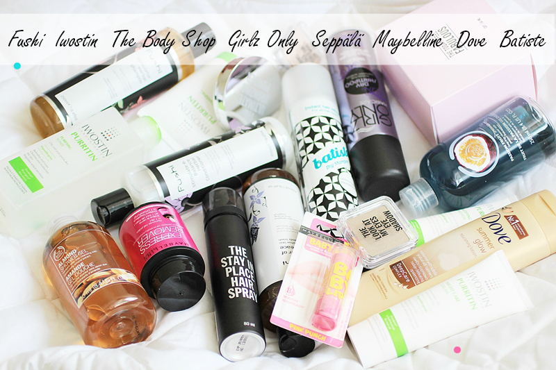the body shop haul seppälä fushi
