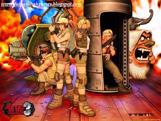 Metal slug 3 game