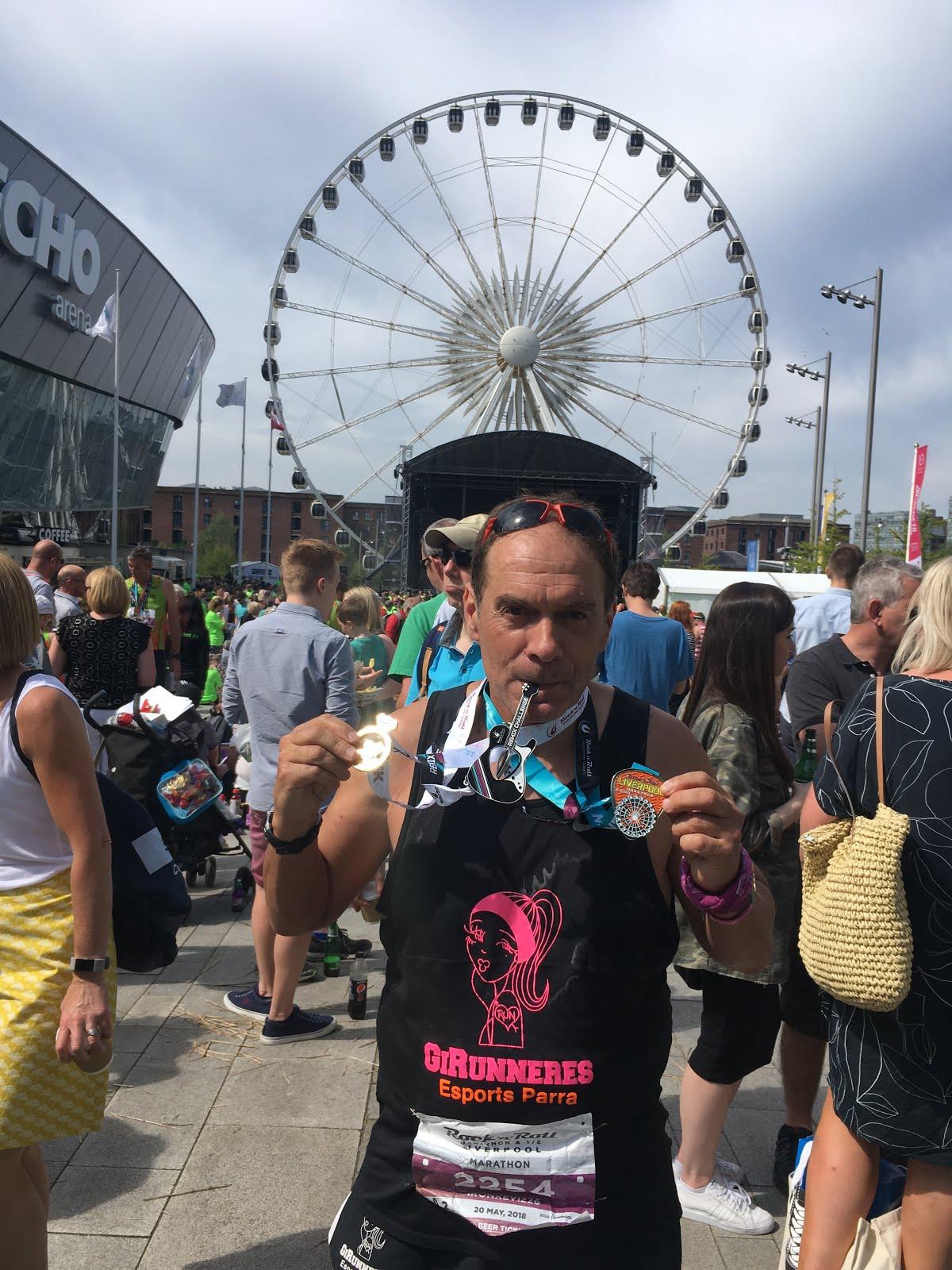 Liverpool Marathon (20-5-2018)