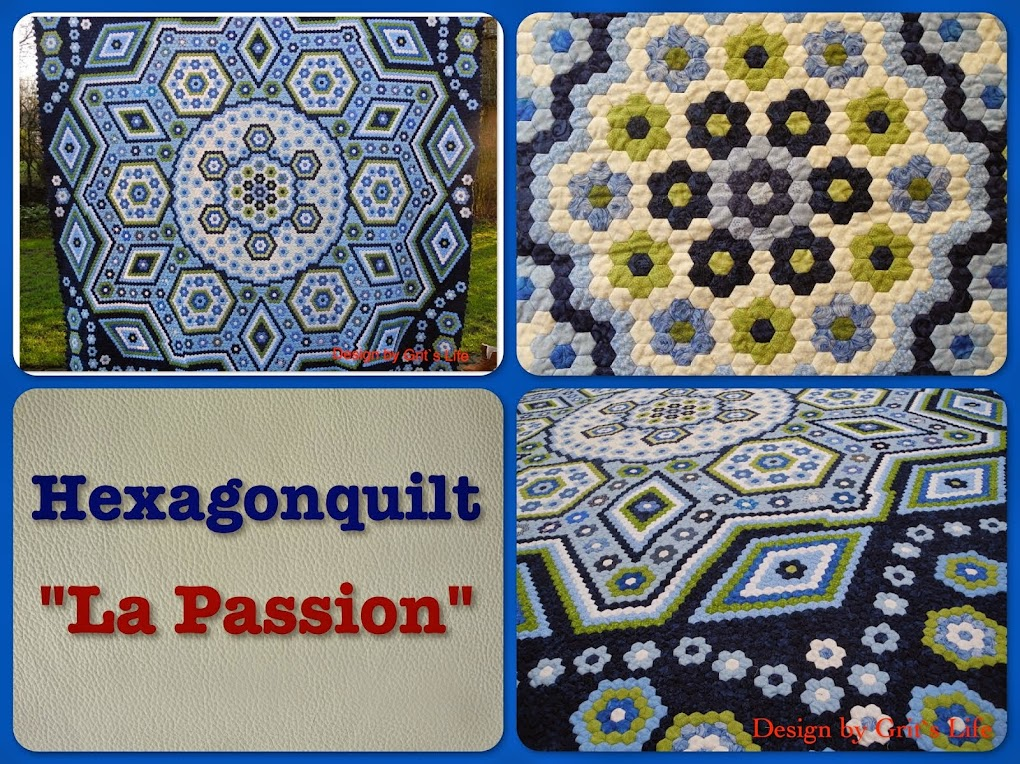 "Hexagonquilt ""La Passion"""