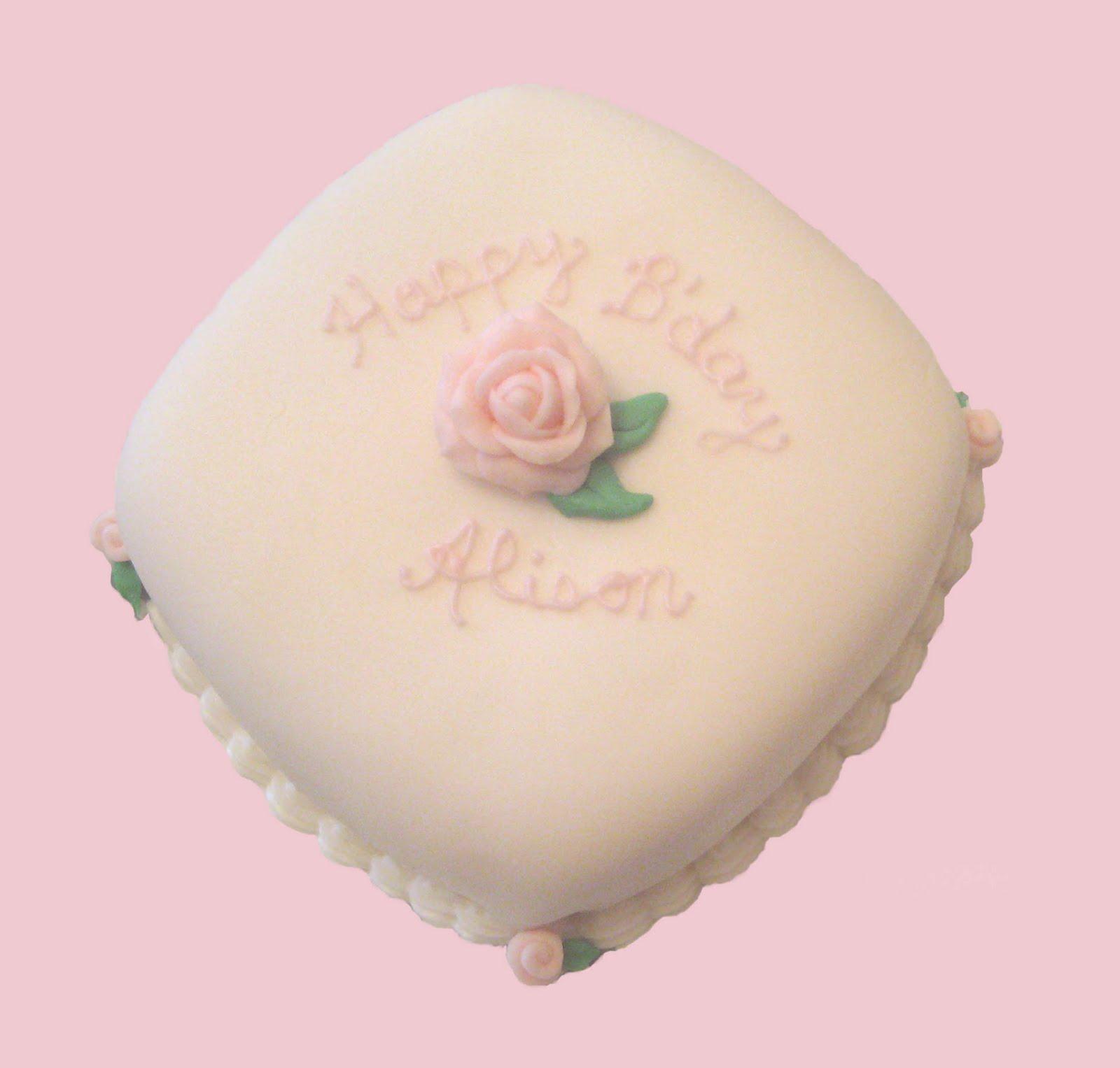 Happy Birthday Alison Cake