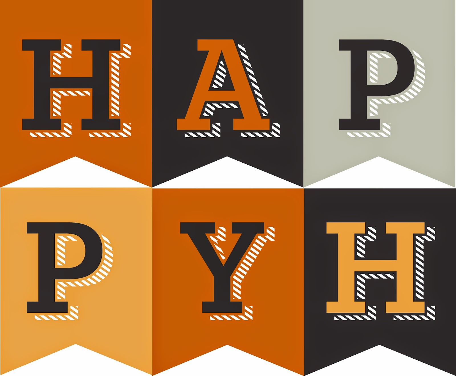 Declarative image regarding happy halloween banner printable