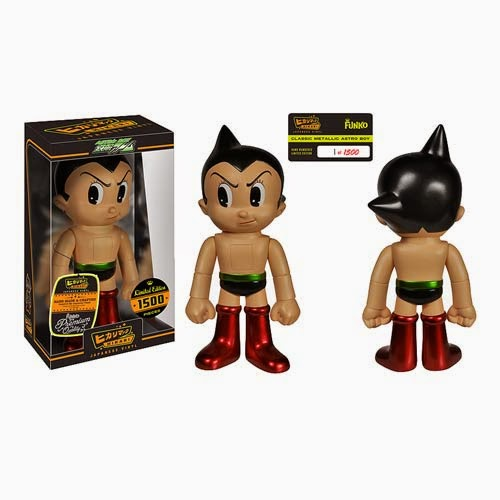 """Metallic"" Astro Boy Hikari Vinyl Figures by Funko"
