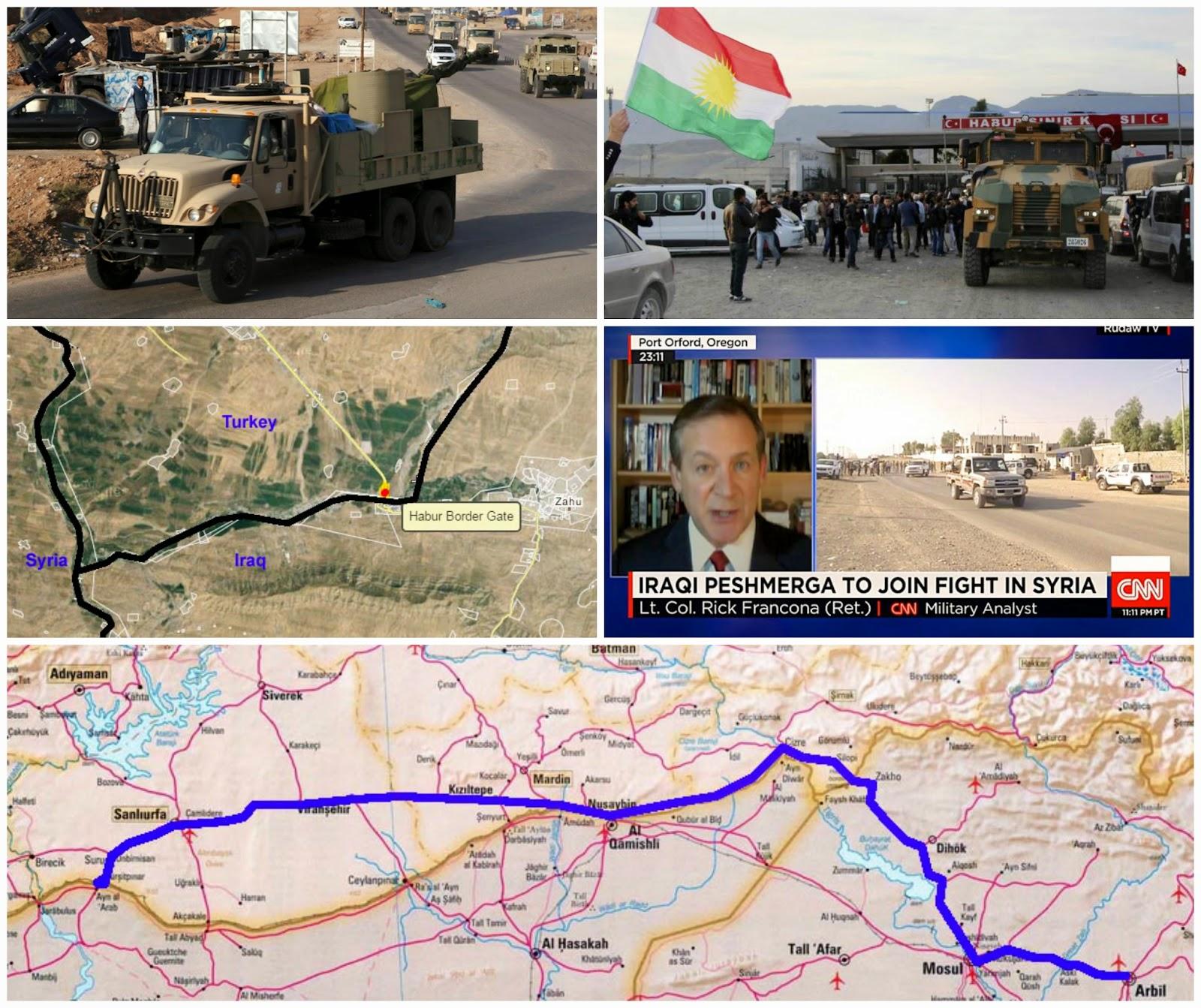 iraqi peshmerga troops cross turkey to kobani why and will it matter