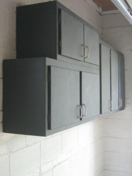 Garage Cabinet makeover
