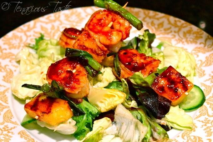 Tenacious Taste: Spicy Soy Glazed Shrimp Skewers with ...