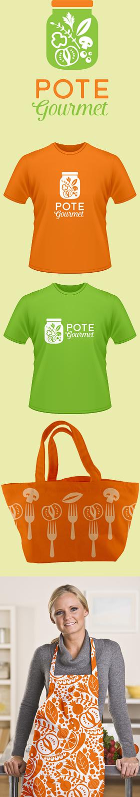 Criação de Identidade Visual para POTE GOURMET