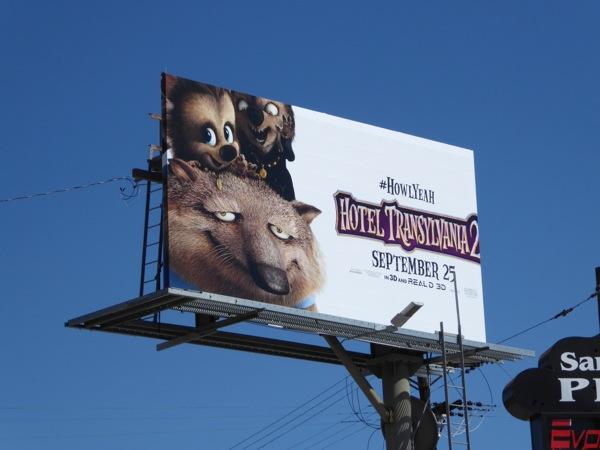Hotel Transylvania 2 werewolves Howl Yeah billboard