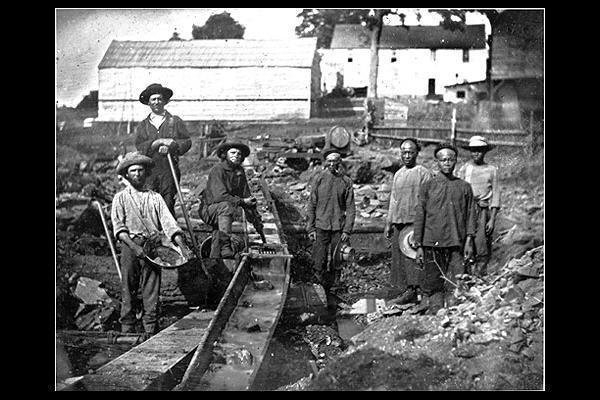 California Gold Rush  (1848 - 1855)