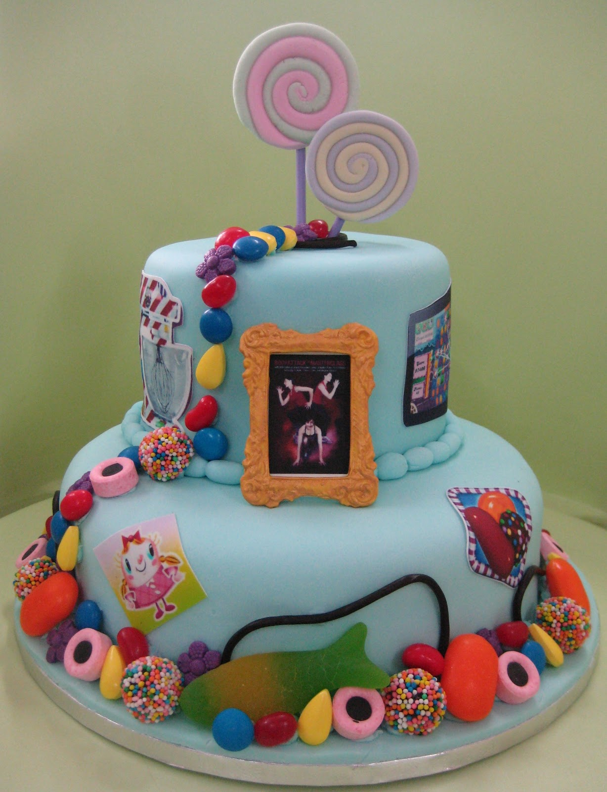 Candy Crush cake for Leisa