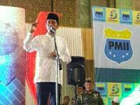 Harlah PMII ke 55 Tahun 2015 Dihadiri Jokowi