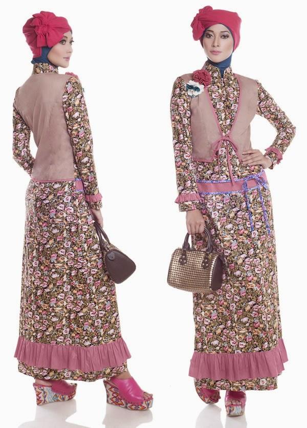 Desain Busana Muslim Pesta Wanita