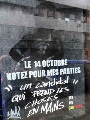 Le 14 octobre votez