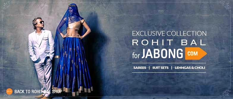 Jabong: Buy ROHIT BAL designer womens clothing with extra 35% off