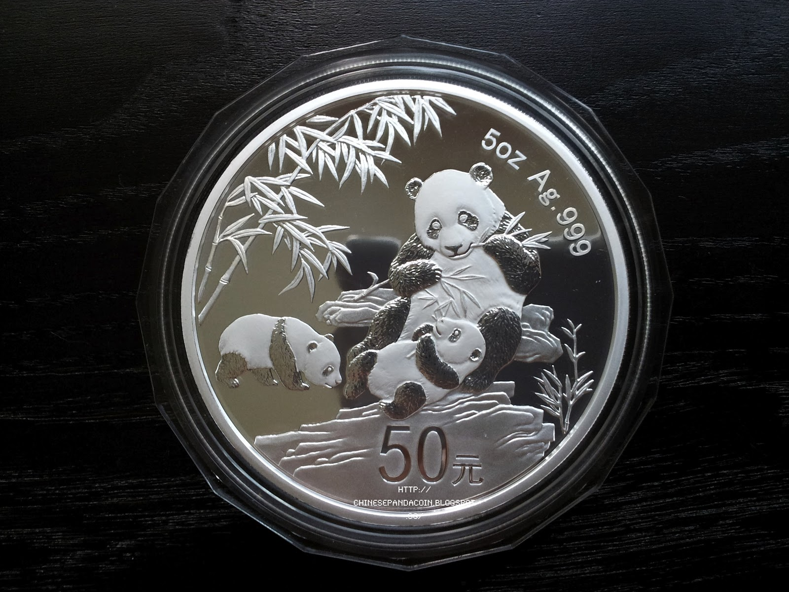 Chinese Panda Coin Commemorative 5 Oz Silver Panda For