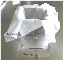 Forma em aço inox para fazer queijo