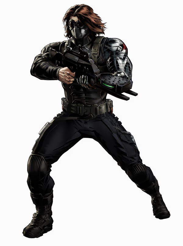 Winter Soldier Marvel Avengers Alliance