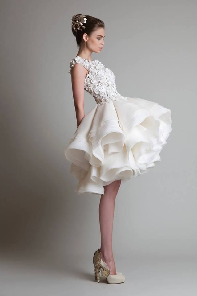 5 Most Beautiful Newly Trended Short Wedding Dress