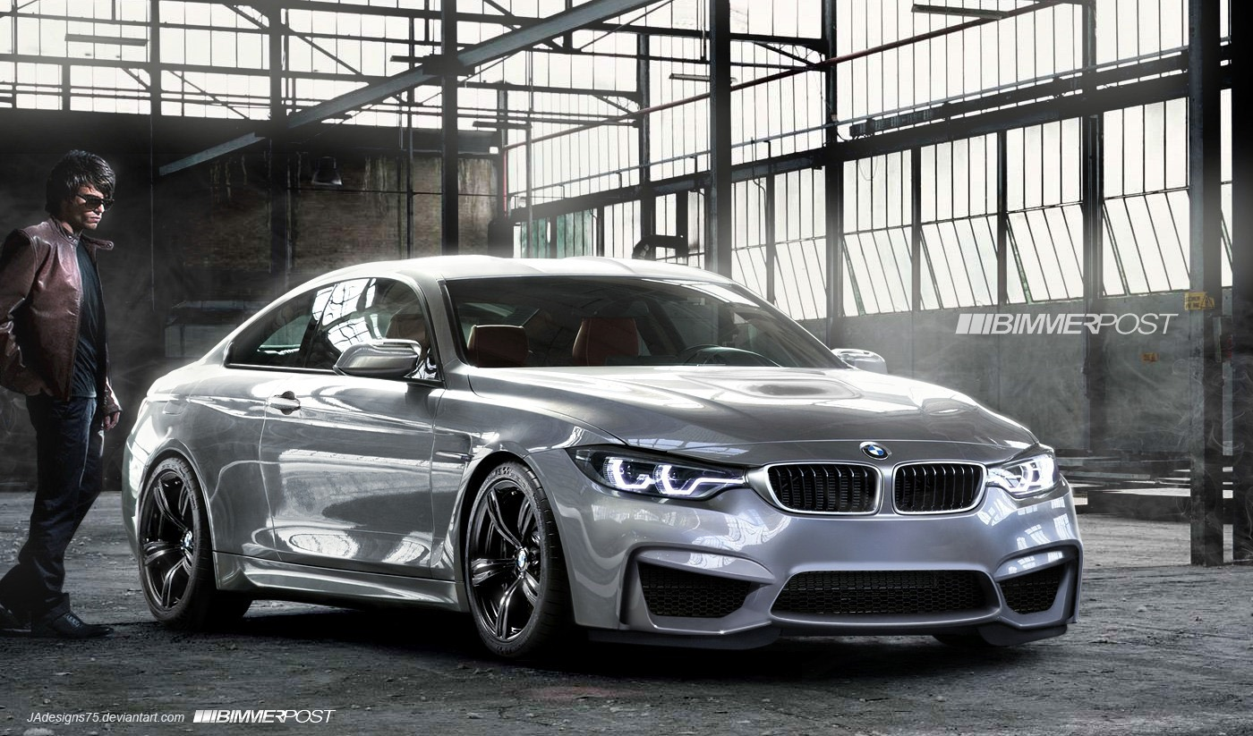 2014 bmw m4 coupe rendered what do you think auto cars concept. Black Bedroom Furniture Sets. Home Design Ideas