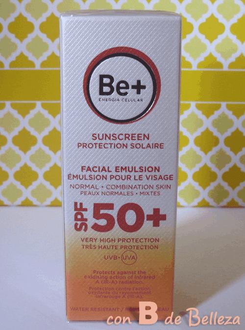 Emulsion solar Be+