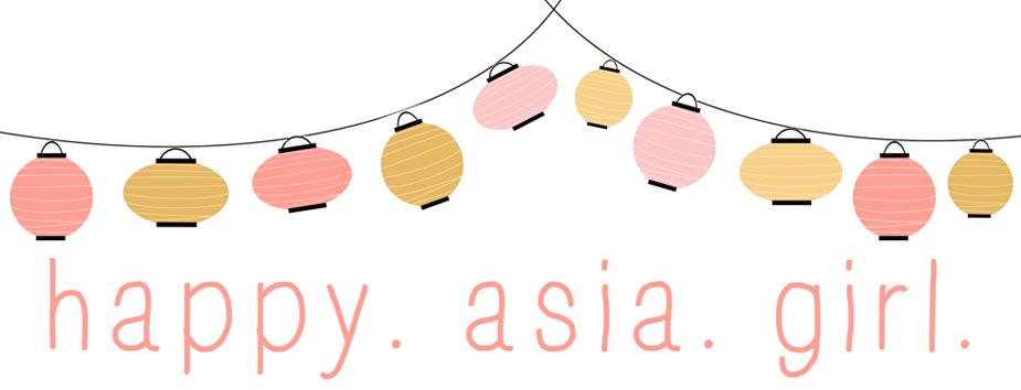 Happy. Asia. Girl.