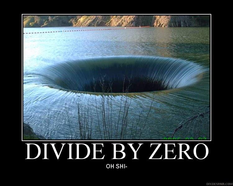 Resourceaholic: Dividing by Zero
