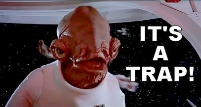 Admiral Ackbar of 'Star Wars' is © Lucasfilm and 20th Century Fox