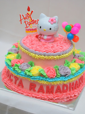 Cerita Indah Hello Kitty cake