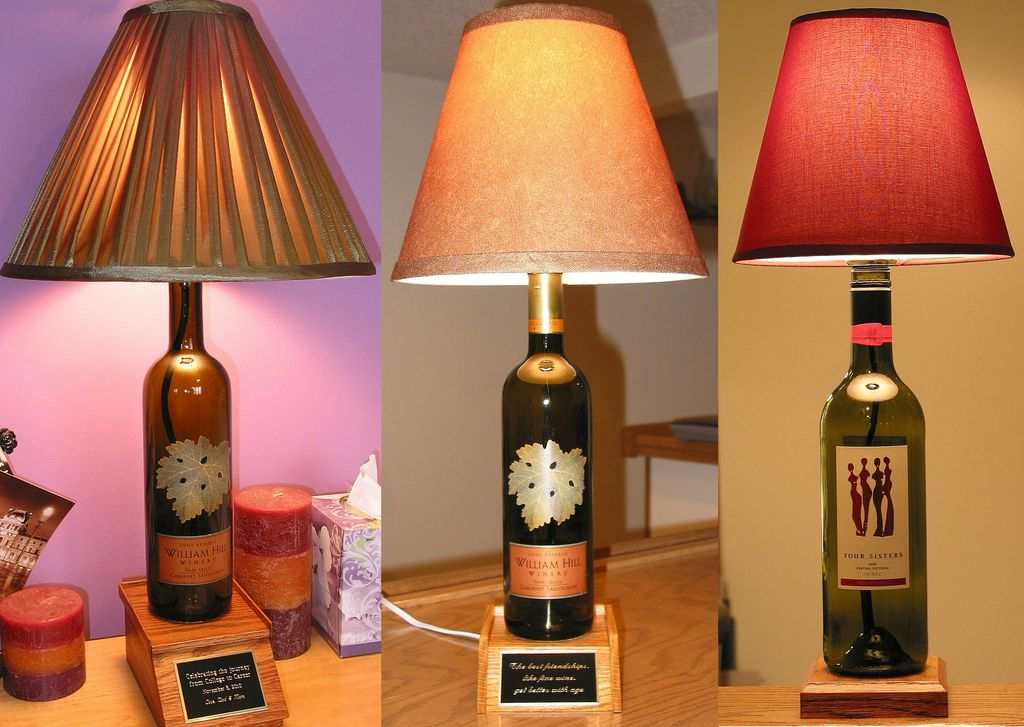 Cool Bottle Lamps And Creative Bottle Lighting Designs