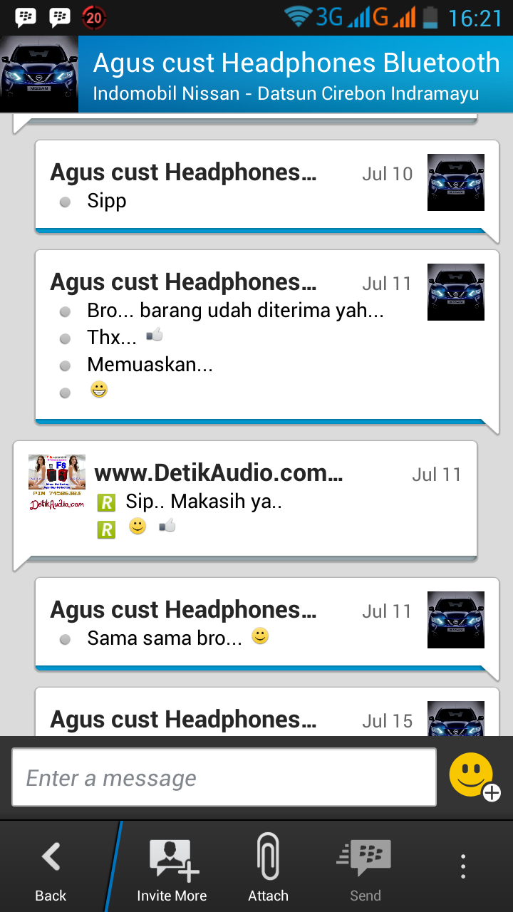 Detik Audio Online Store Nakamichi Innergie Speaker Portable Headset Nbe 250 Tangapan Customer