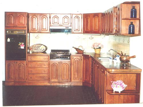 imagenes de muebles de cocina de algarrobo - MACHAGAI MUEBLES DE ALGARROBO Catalogo de