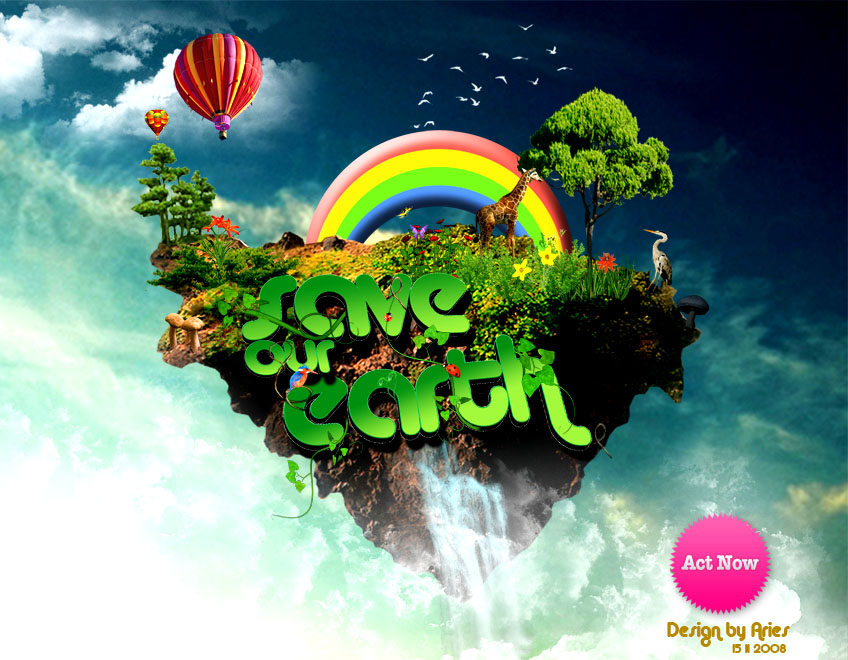 save our earth essay for kids