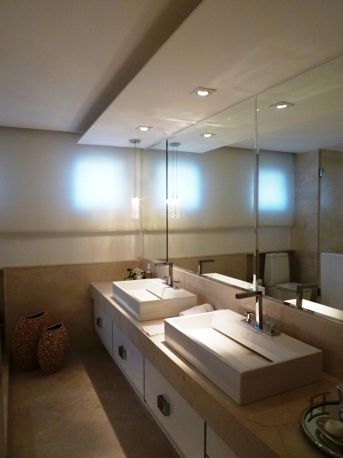 Gesso Chikk * Simplesmente um Luxo*: Decoração Banheiro Master ! #3E708D 1200 1600