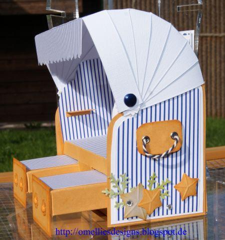 Strandkorb vorlage  Omellie's Designs: Strandkorb / Beach Chair zur Silberhochzeit