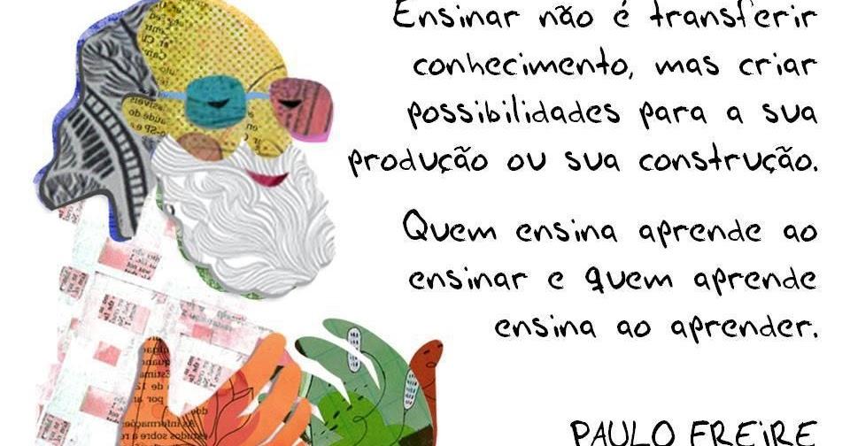 Well-known arTeira TRAKKINA: EDUCAÇÃO: pensamento de PauloFreire FR67