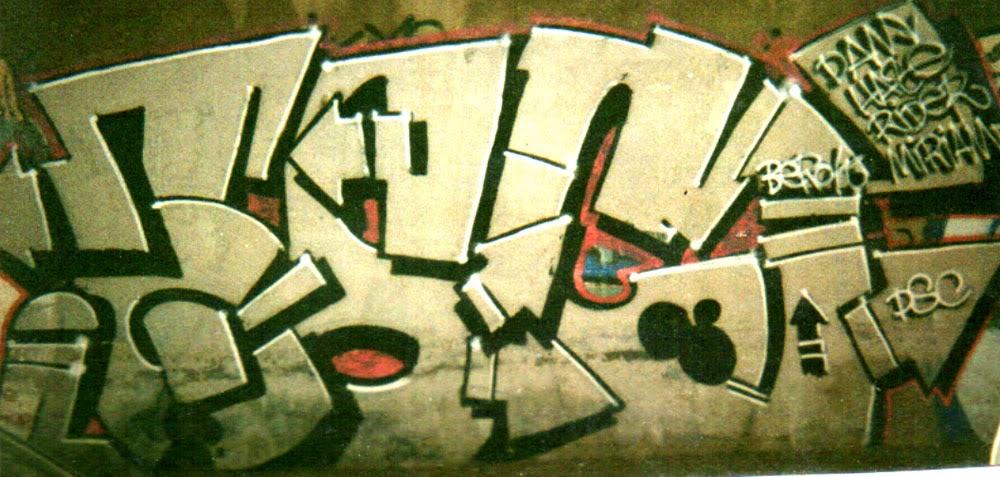 Graffiti dsc pieza