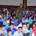 Danrem 032/Wbr Berikan Materi Wawasan Kebangsaan kepada 5.300 Mahasiswa Unand